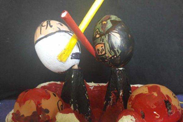 Darth Vader eggs
